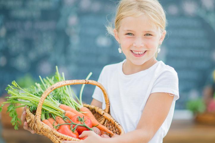 Une alimentation bio pour nos enfants