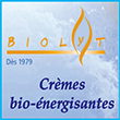 Crèmes naturelles énergisantes Biolyt