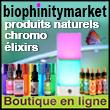 Boutique en ligne bio et bien-être - produits naturels et éco responsables | Biophinitymarket.com - Biophinitymarket, boutique en ligne spécialisée dans la vente de produits respectueux de la personne et de son environnement, présente des produits qui répondent à des critères stricts de qualité de production éco-responsable - Biophinitymarket travaille avec des créateurs, des artisans, des commerçants et des producteurs qui adhèrent à la philosophie, l'éthique et aux valeurs de l'entreprise Biophinitymarket.