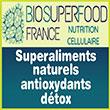 Superaliments naturels antioxydants/détox - Compléments alimentaires riche en astaxanthine, bêta-carotène et zéaxanthine - Biosuperfood-france.com - Biosuperfood France, spécialiste en santé/détox (label hydroponique), propose sa synergie exceptionnelle de micro-algues pures, détoxifiantes/antioxydantes (spirulines, dunaliella, Haematoccocus Pluvialis) riches en nutriments hautement assimilables (astaxanthine, bêta-carotène, zéaxanthine, lycopène, lutéine, quercétine, chlorophylle, enzymes, oméga 3/6/9, acide gamma-linolénique, protéines complètes, vitamines B/D/C/B12/E/K, calcium et magnésium et zinc). Ces superaliments naturels antioxydants/détox apportent une amélioration de la santé des yeux, des fonctions neurologiques, de la mémoire et même de l'humeur avec, également, une nutrition efficace des organes cérébraux (hypothalamus).