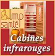 Cabines Sauna Infrarouge MP Santé - Purification,  Relaxation,  Soulagement de la douleur,  Contrôle pondéral,  Soin de la peau