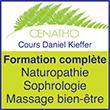Cenatho Formation Naturopathie avec Daniel Kieffer  - Depuis 1990, le Collège Européen de Naturopathie Traditionnelle Holistique© Daniel Kieffer figure parmi les principaux centres de formation dans le champ professionnel de la prévention, de l'éducation pour la santé et des nouvelles professions de relation d'aide.