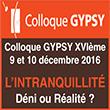 Colloque Gypsy 2016 L'intranquillité