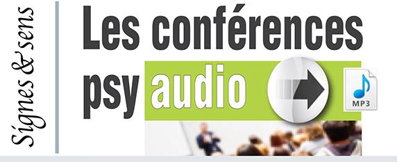 Conférences psy audio gratuites