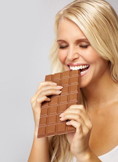 De bonne humeur grâce au chocolat