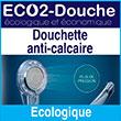 Douchette anti-calcaire puissante, écologique, économique, géothermale qui a été primée au concours Lépine - Eco2douche.com