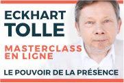 Formation Eckhart Tolle : Le pouvoir de la présence - BeBooda : formations en ligne Eckhart Tolle Le pouvoir de la présence - Nous sommes heureux de vous présenter Le pouvoir de la présence, un cours en ligne unique en son genre, doublé en français, avec Eckhart Tolle et Kim Eng.