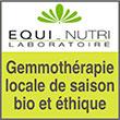 Laboratoires Equi-Nutri, spécialistes en gemmothérapie, orthomoléculaire, et phytothérapie.