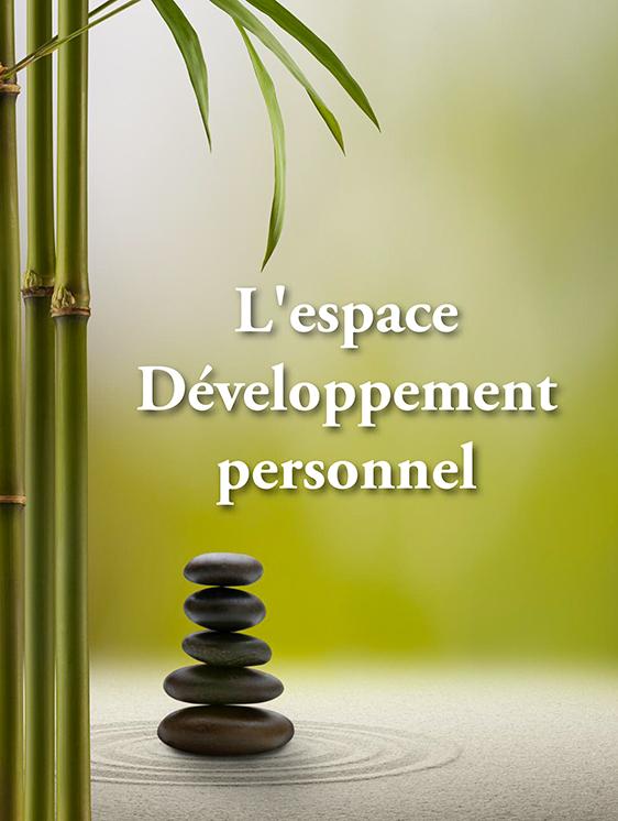 L'espace développement personnel