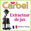 Extracteur de jus santé Carbel