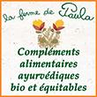 Ferme de Paula Compléments alimentaires ayurvédiques bio-équitables