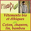 Filabio - Vêtements bio et chanvre naturel : écologiques, responsables et éthiques - Sous-vêtements et chaussettes en coton bio et bambou.