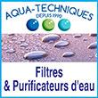 Purificateur d'Eau Aqua-Techniques - Distributeur exclusif des marques Doulton, British Berkefeld, Sprite Showers, Hydron Cyklon Cintropur