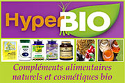 Compléments alimentaires bio cheveux et corps, anti âge, antioxydant - Hyperbio - Une sélection de compléments alimentaires bio fabriqués à base de plantes pour combattre rides et cellulite, pour stimuler sa vitalité intellectuelle ou autres.
