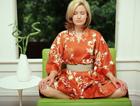 Je me détends en kimono !