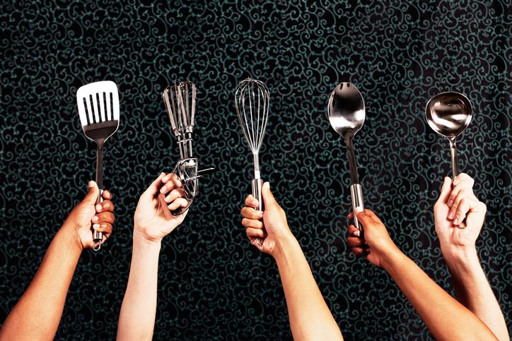 Je prends des cours de cuisine !
