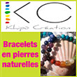 Bijoux et bracelets en pierres naturelles et minéraux - Khipu Création, spécialisé en cristallothérapie, lithothérapie énergétique, ouverture de conscience, vous propose des conseils personnalisés uniques selon vos demandes : choix des pierres naturelles