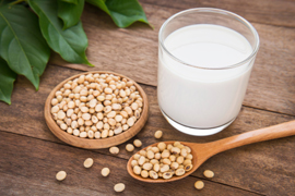 Le précieux lait de soja