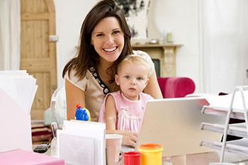Les mamans « digitales » font face !