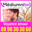 Mediumnitel Voyance de l'amour / Voyance par téléphone sérieuse  ✓ Un large choix de voyant dans notre salon audiotel divinatoire ✓  Votre consultation de voyance sans attente en direct par téléphone