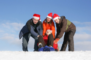 Mon Noël aux sports d'hiver