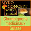 Myko-concept - Vos champignons médicinaux en Suisse