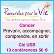 Passerelles pour la vie - Congreés Cancer : en sortir