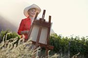 Peindre en faisant du tourisme !