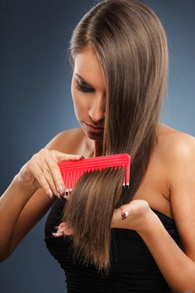 Perte de cheveux anormale