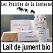 Lait de jument bio - Produits Cosmétiques Naturels | Lesprairiesdelanterne.com