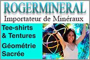 Roger Minéral - Tee-shirts & Tentures,,Nous vous présentons toute une gamme de produits autour du thème de la Géométrie Sacrée, que ce soit des Tee-shirts, des Tentures, des autocollants, etc.
