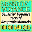 Sensitiv Voyance recrute des professionnels