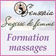 Formation massages  Blois (41) - Devenir praticien en massages bien être - Sensoria Formation\/Sagesse de Femme, depuis 2012, centre de formation  en massages bien être agréé par l'Etat (Datadock), propose une formation qualifiante pour devenir praticien en massages bien être (formation qualifiante sur Blois (41), Tours (37), Royan (17)) et formation massages à la carte.