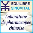 Sino équilibre Laboratoire de pharmacopée chinoise