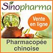 Pharmacopée chinoise : vente en ligne pharmacie chinoise MTC Sino Pharma