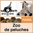 Zoo de peluches - Paris Bêtes de Seine