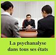La psychanalyse dans tous ses états