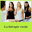 La thérapie vocale. L'action thérapeutique de la voix sur le capital santé.