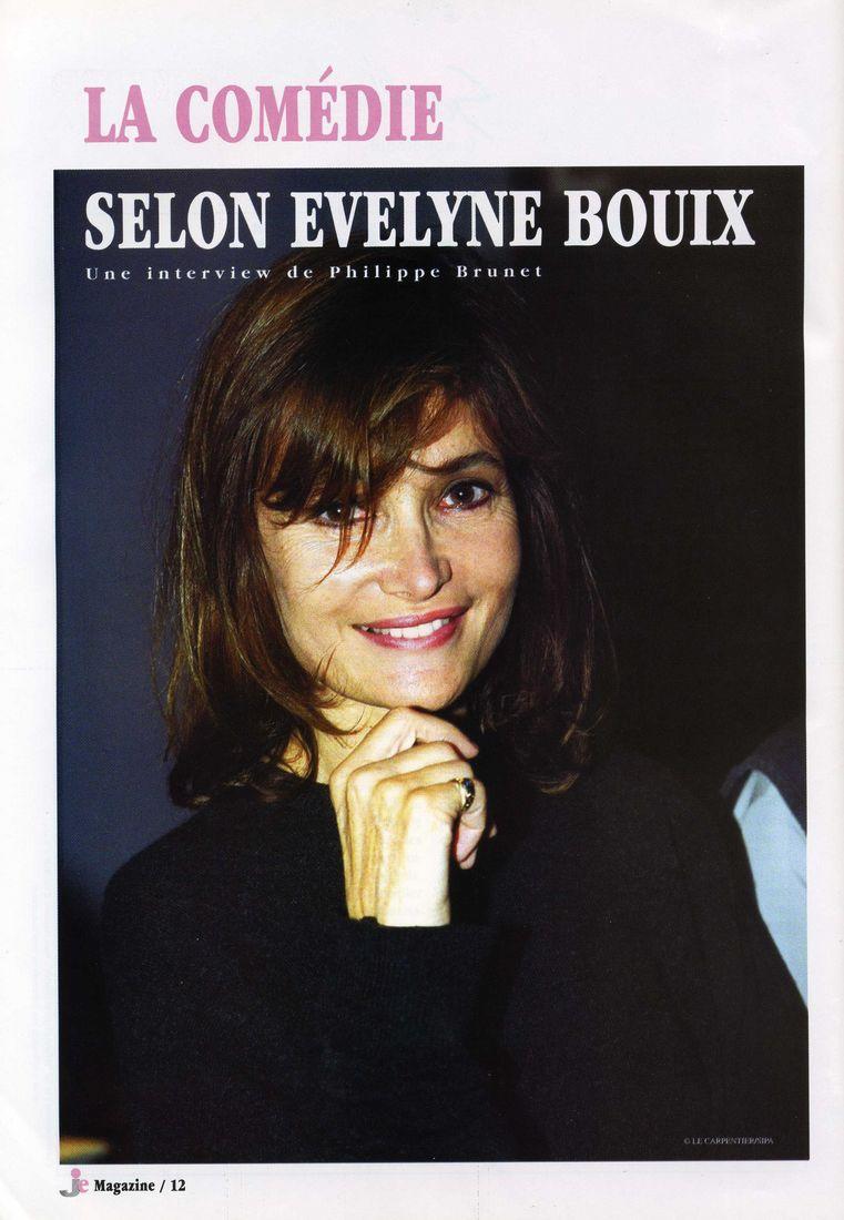 La comédie selon Évelyne Bouix   Signesetsens.com