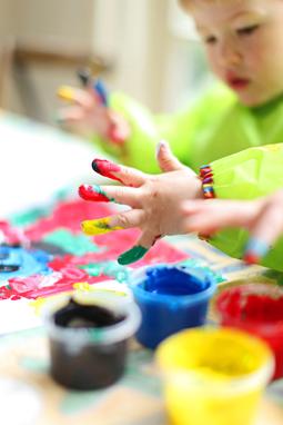 Un enfant peut cacher un artiste...