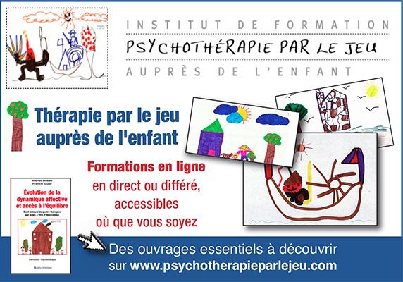 Thérapie par le jeu | Institut de formation auprès de l'enfant