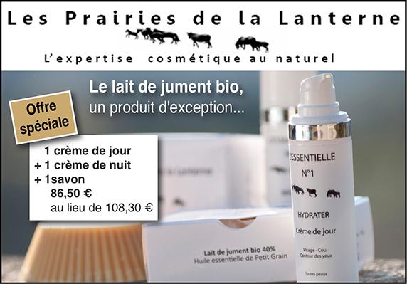 Les Prairies de la Lanterne Lait de jument Bio