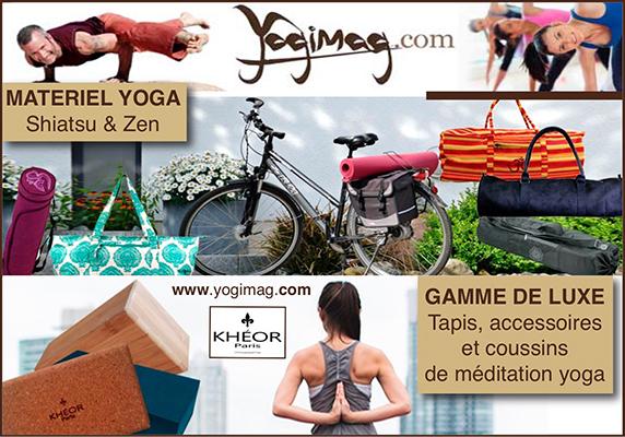 Matériel Yoga : accessoire et équipement zen, tapis de yoga / Yogimag